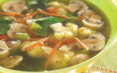 15-Minute Garden Vegetable Soup
